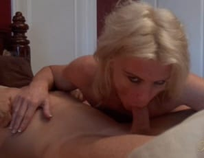 sits on his cock as he penetrates her wet pussy