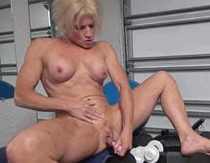 Mandy Foxx is a horny mature sex fiend