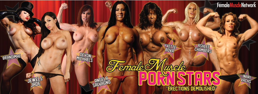 Female Body Builder Porn Star 48